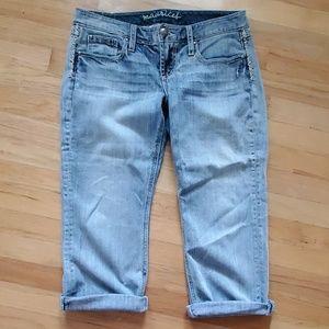 Maurice's Jean Capris size 7/8